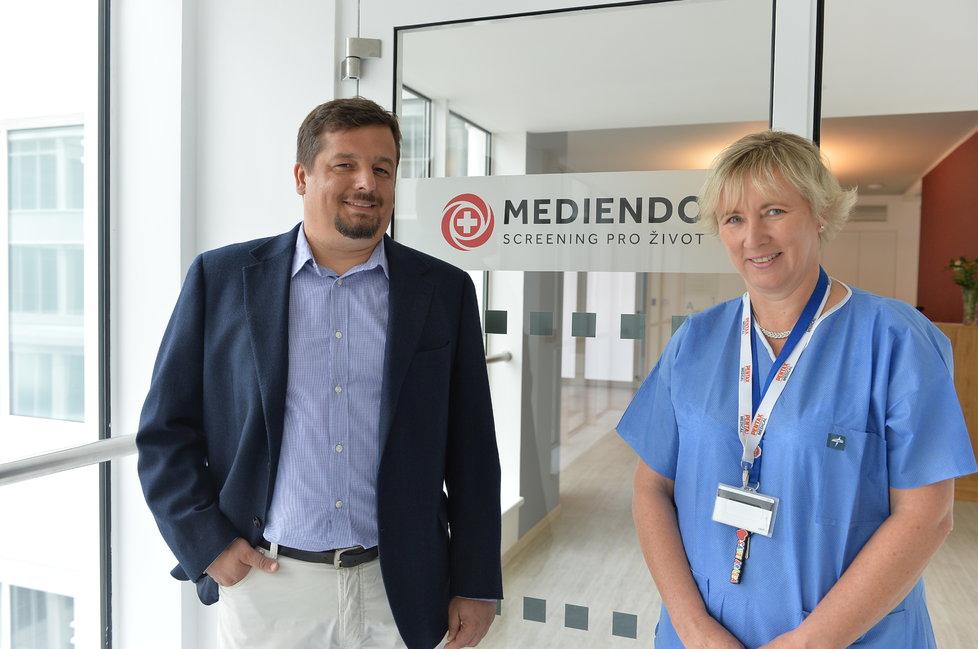 doc.MUDr. Štěpán Suchánek, Ph.D. a Hana Kubů